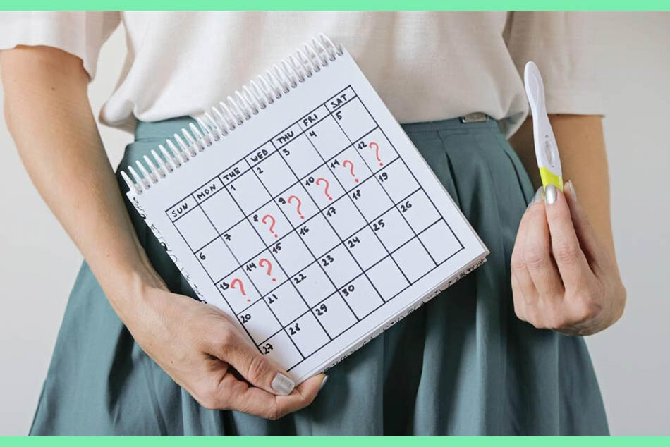 Mang thai là một trong số những nguyên nhân phổ biến nhất gây chậm kinh