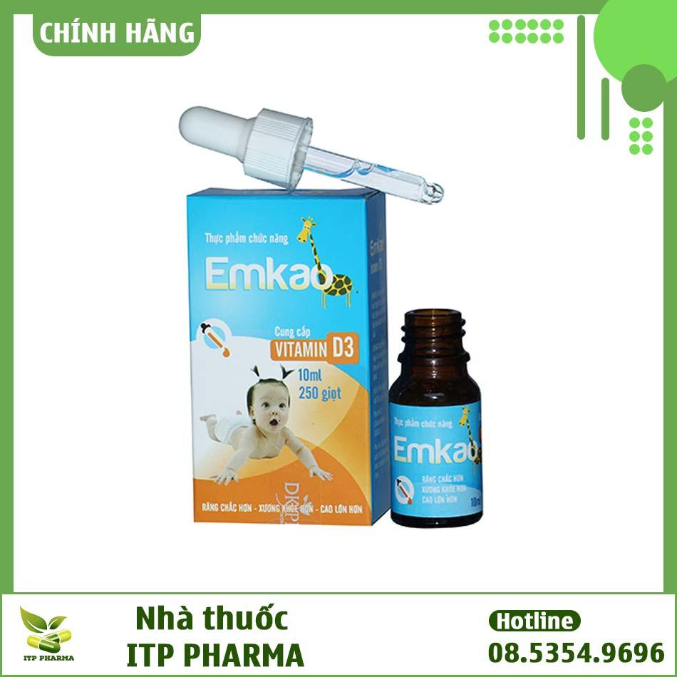 Hình ảnh lọ sản phẩm Emkao