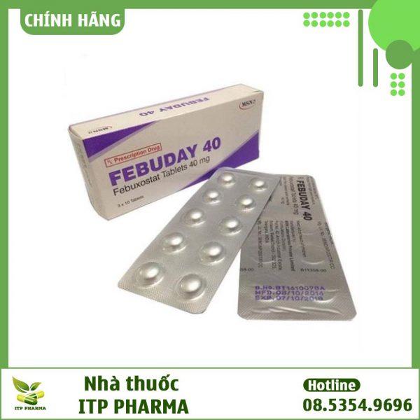 Thuốc Febuday 40 là thuốc gì?