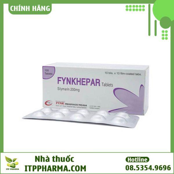 Hình ảnh hộp thuốc Fynkhepar