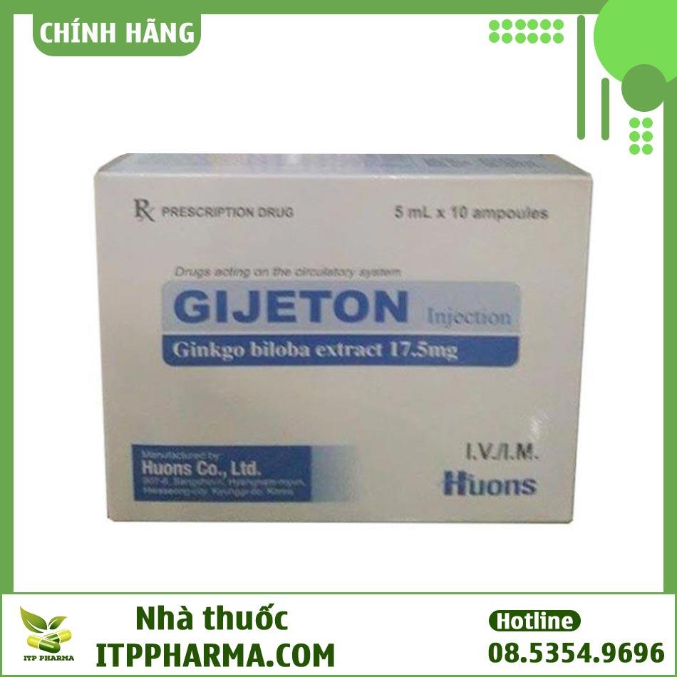 Thuốc Gijeton Injection 17,5mg/5ml