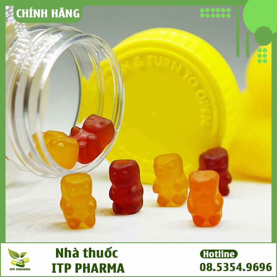 Hình ảnh viên kẹo dẻo Gummy Vites