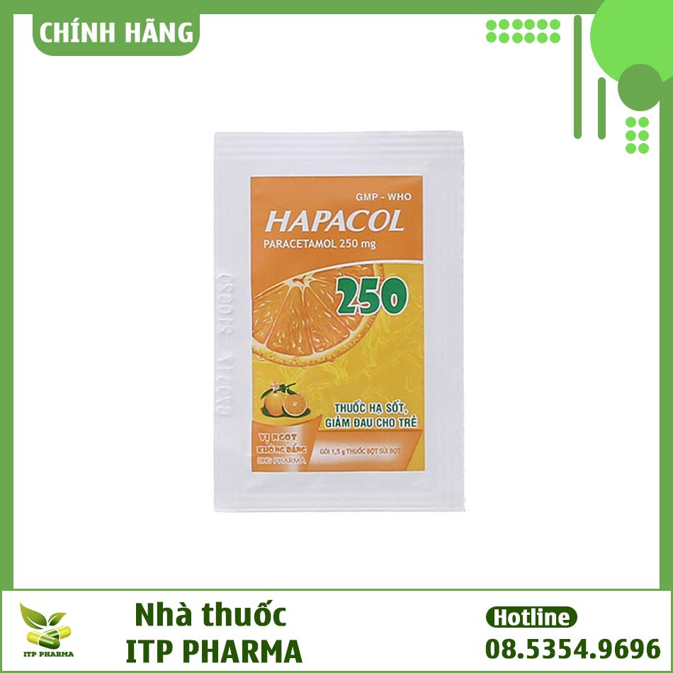 Gói thuốc Hapacol