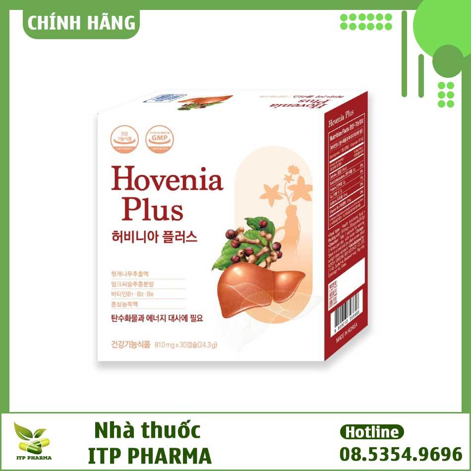 Hình ảnh hộp sản phẩm Hovenia Plus