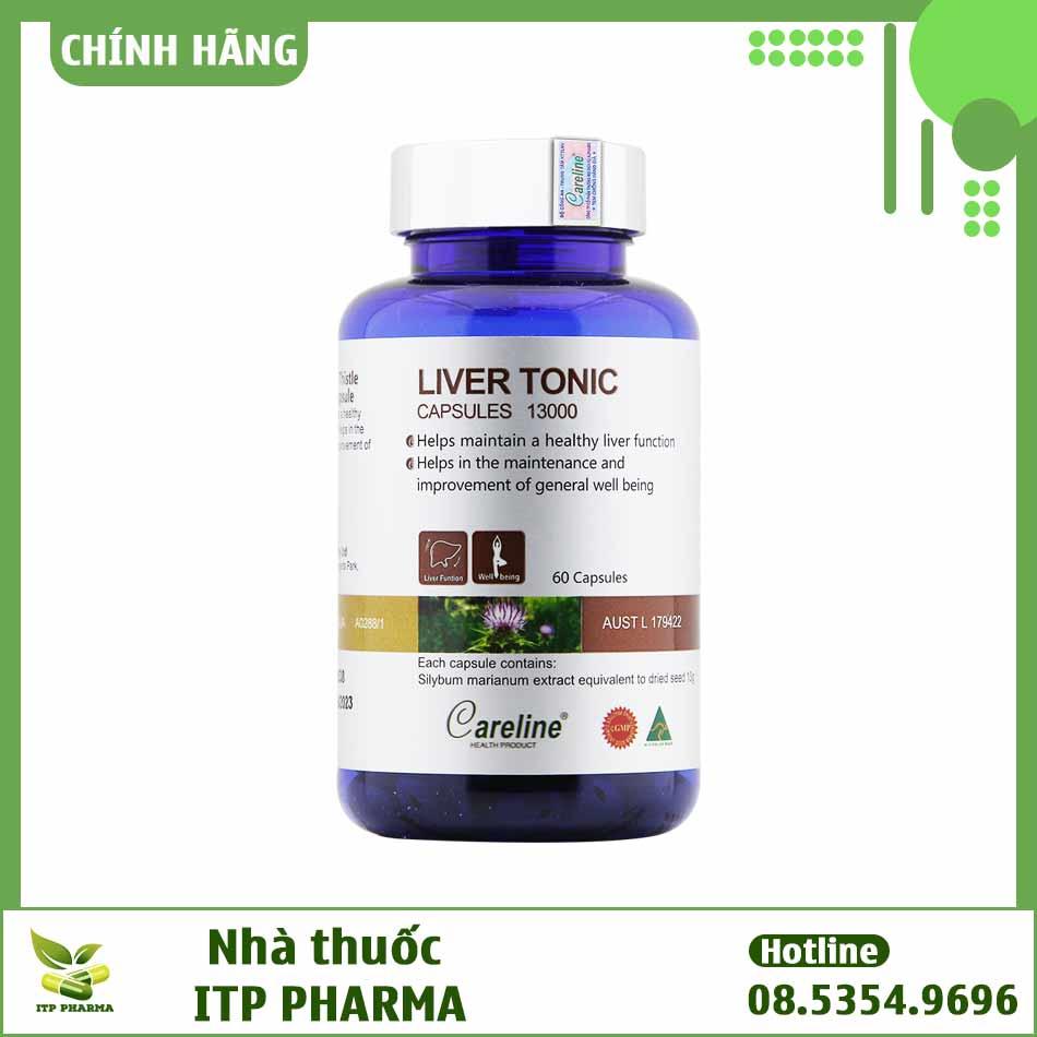 Thành phần của Liver Tonic