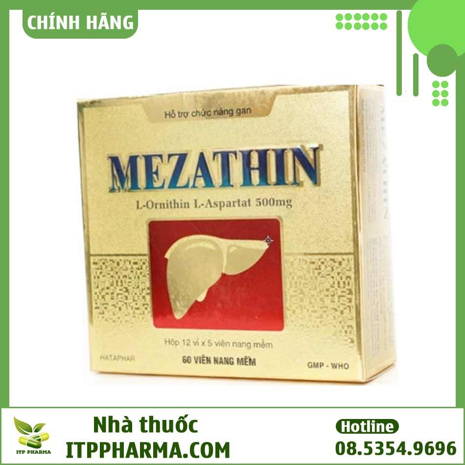 Hình ảnh hộp thuốc Mezathin