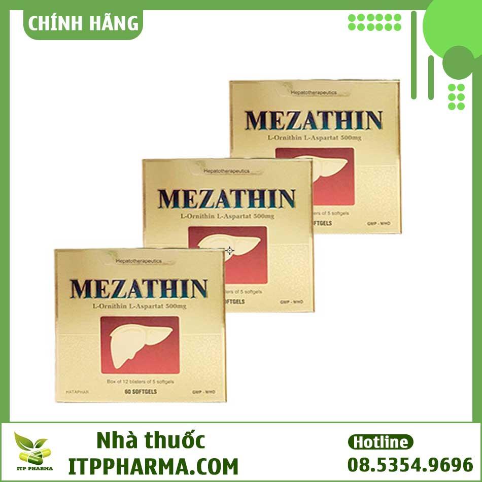 Thuốc Mezathin L-Ornithine -L-Aspartate 500mg