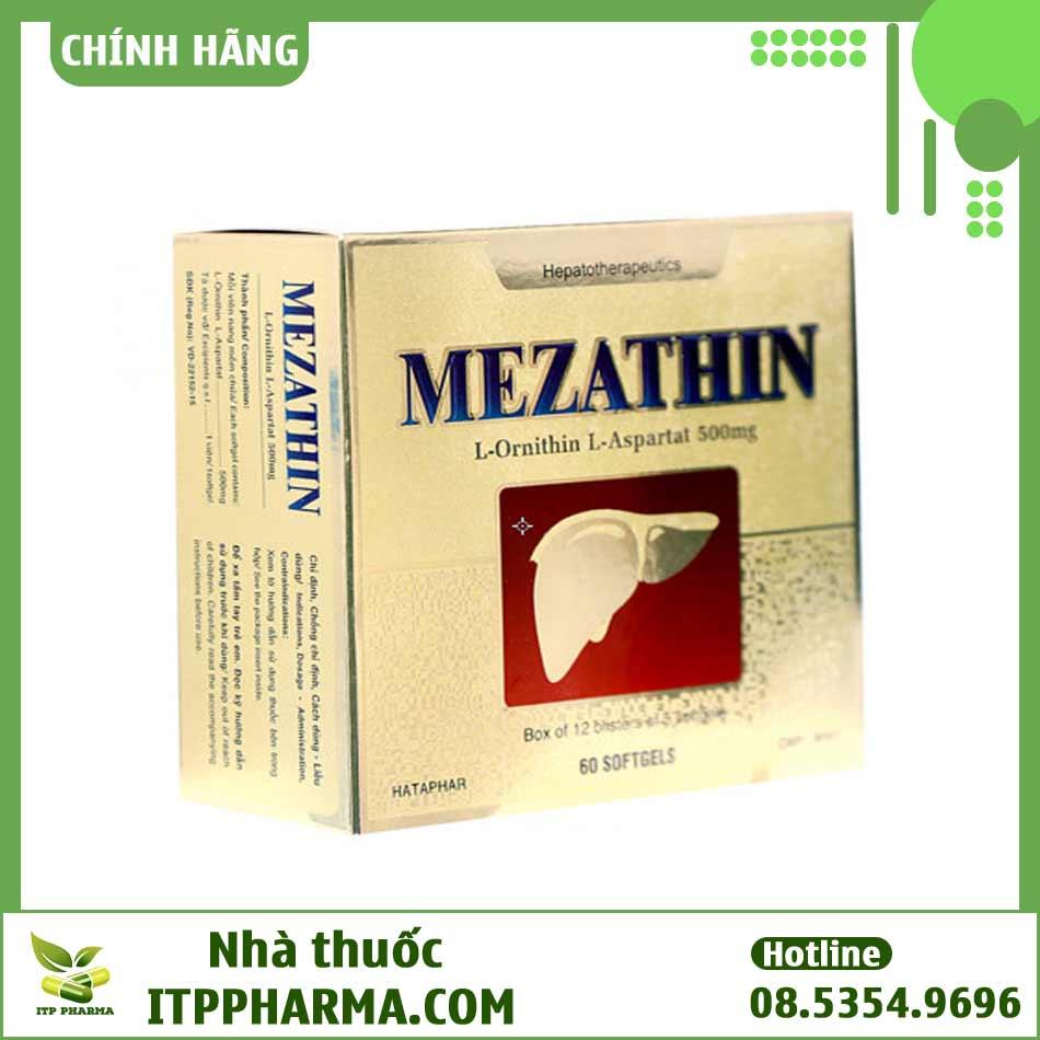 Thuốc Mezathin - Điều trị các bệnh về gan