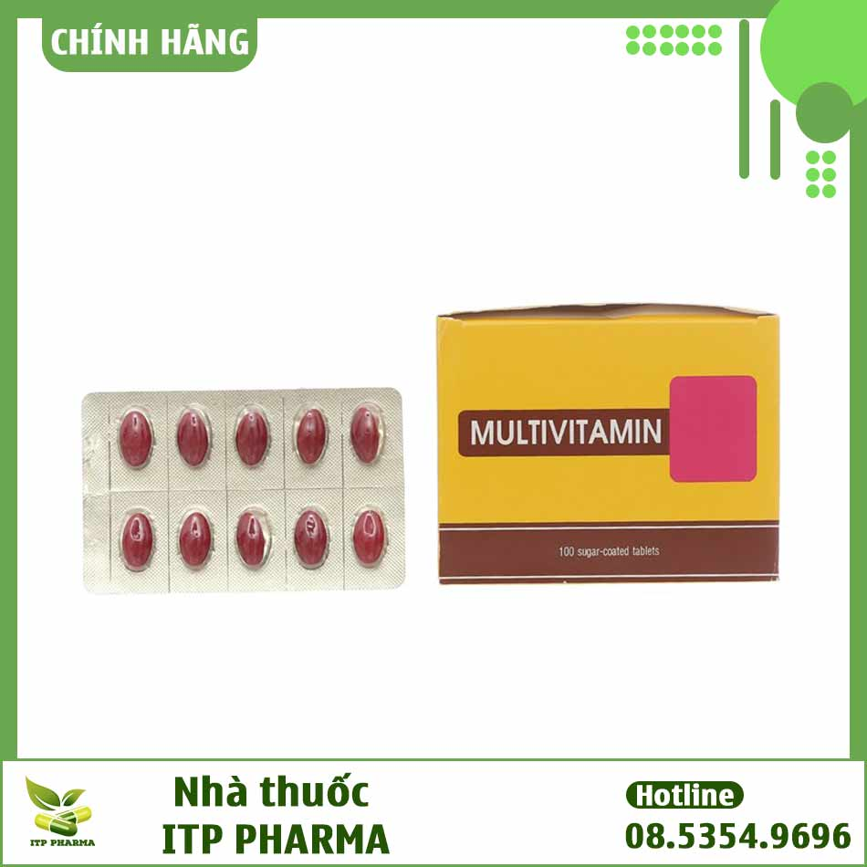 Hình ảnh thuốc Multivitamin TV Pharm