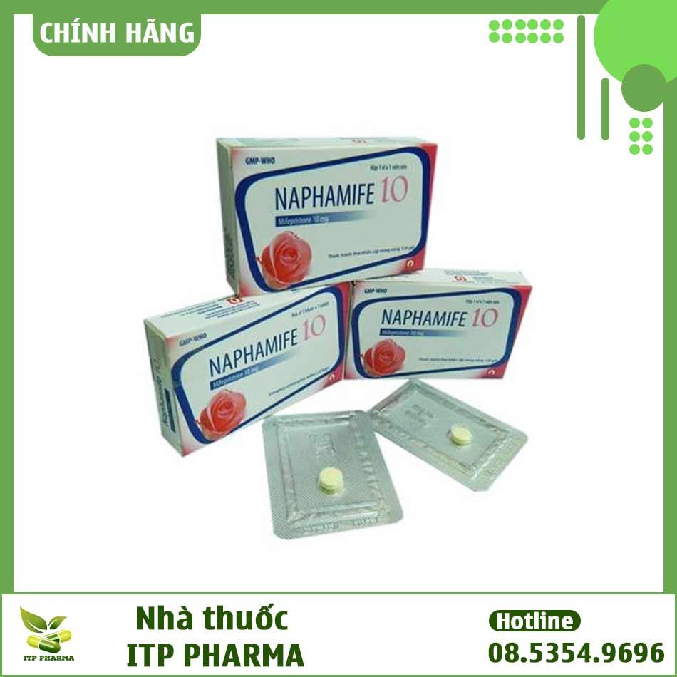 Thuốc tránh thai khẩn cấp Naphamife