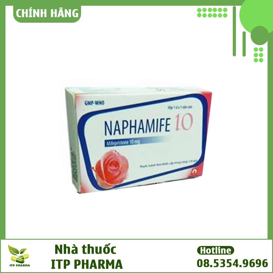 Hình ảnh hộp thuốc tránh thai Naphamife