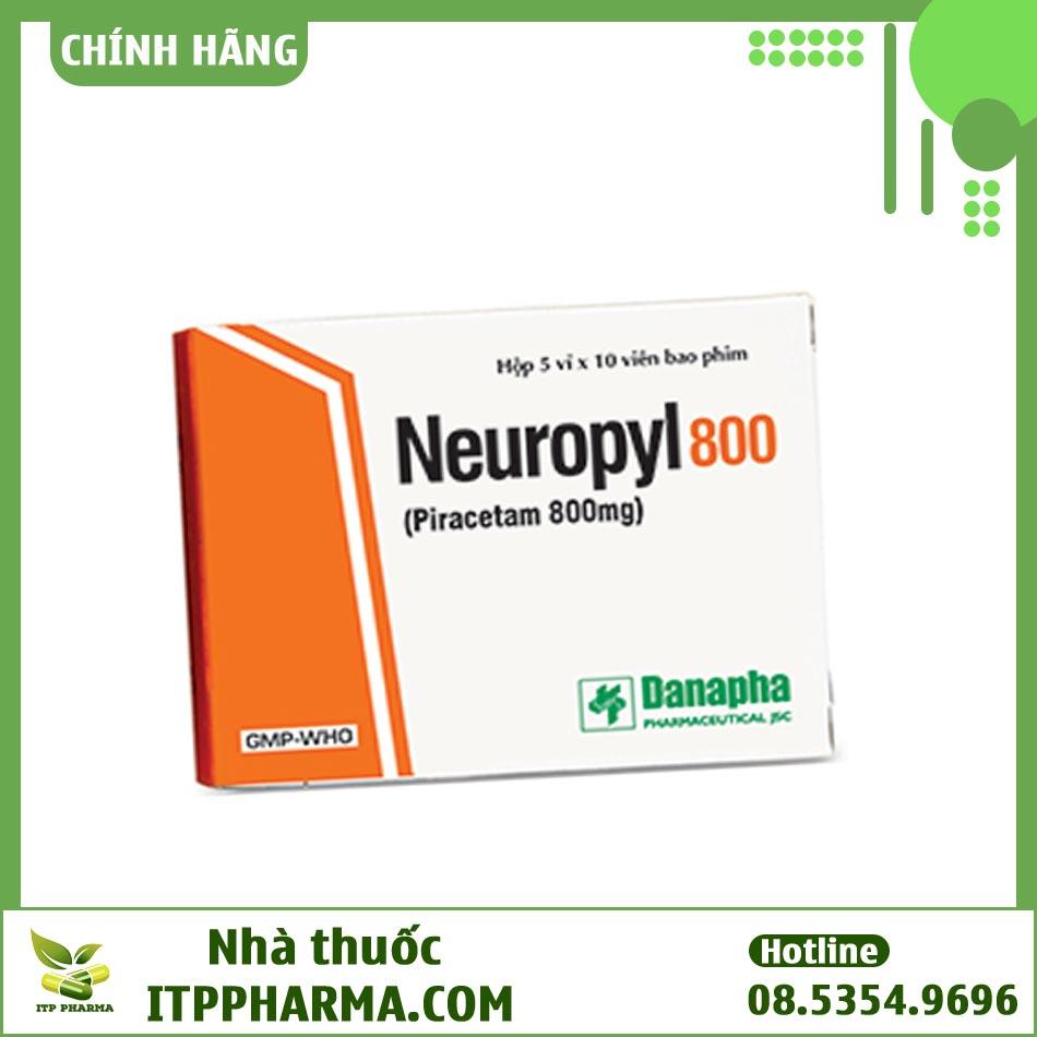 Thuốc Neuropyl 800mg điều trị các bệnh do tổn thương não