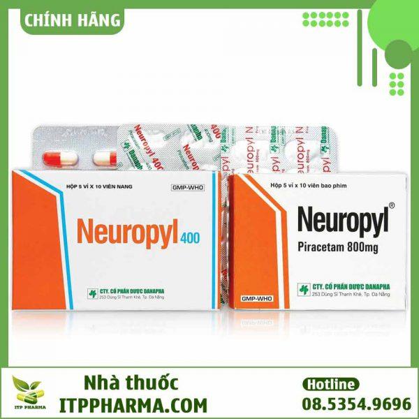 Thuốc Neuropyl loại 400mg và 800mg