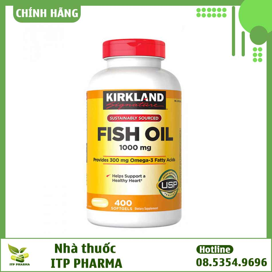 Omega 3 Kirkland Signature 1000 mg là gì?