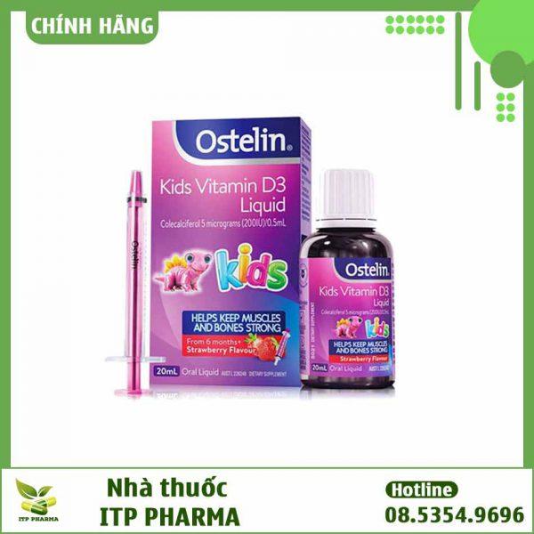 Ostelin Vitamin D Kid có tốt không?