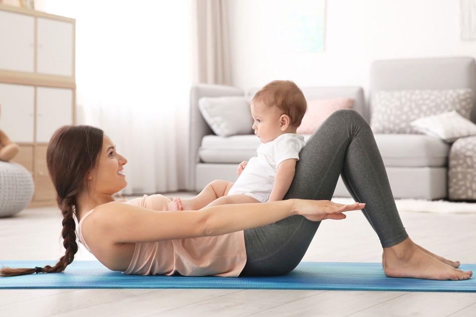 Tập thể dục đều đặn giúp mẹ cải thiện tình trạng rối loạn kinh nguyệt sau sinh