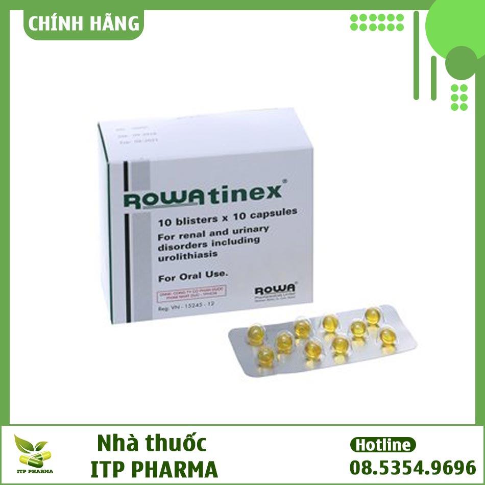 Thuốc Rowatinex có tác dụng gì?