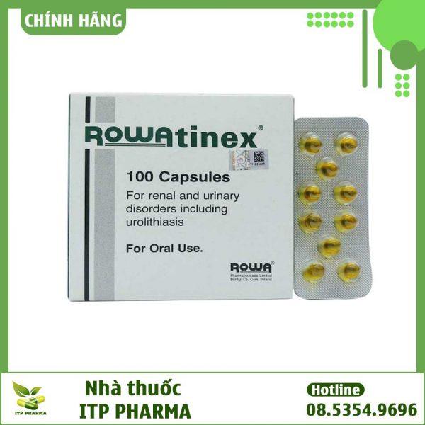 Thuốc Rowatinex điềutrị sỏi thận