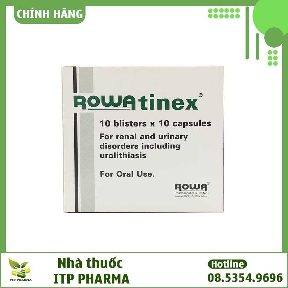 Hình ảnh mặt trước của hộp thuốc Rowatinex