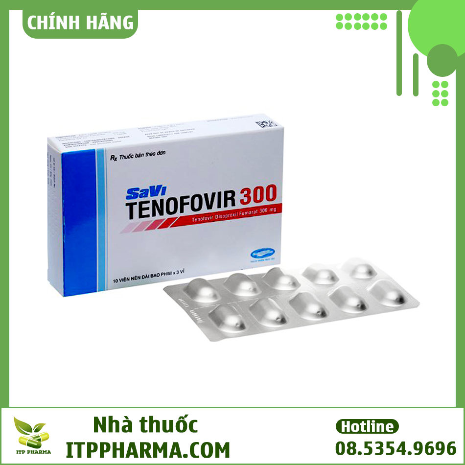Dạng đóng gói của thuốc Tenofovir
