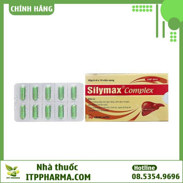 Vỉ thuốc Silymax Complex