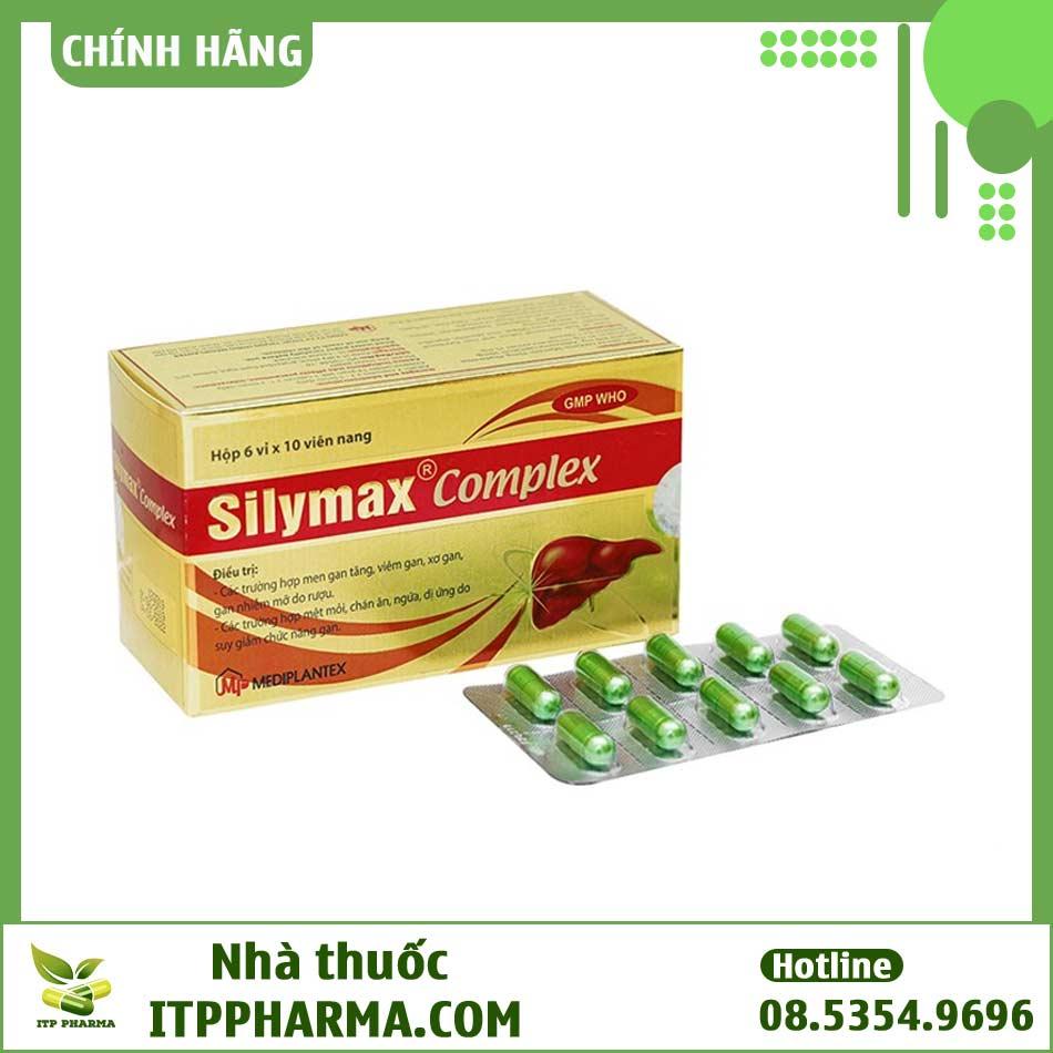 Hình ảnh hộp thuốc Silymax Complex