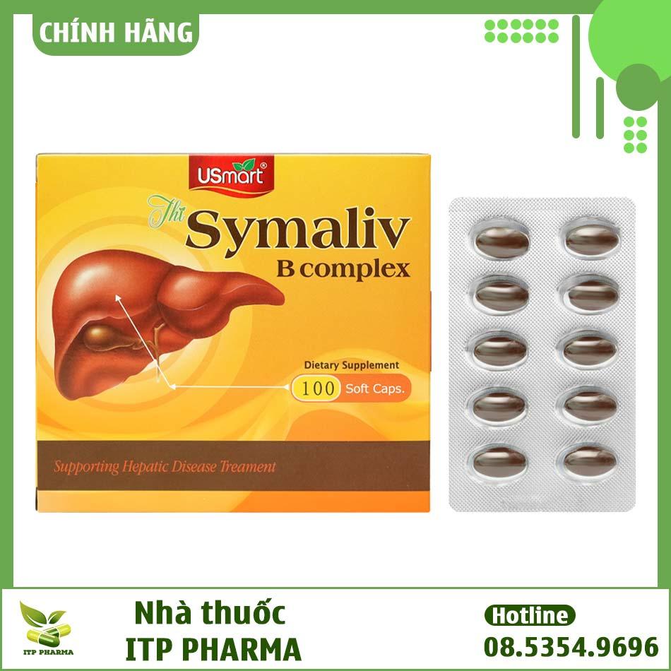 Symaliv - Viên uống giải độc gan