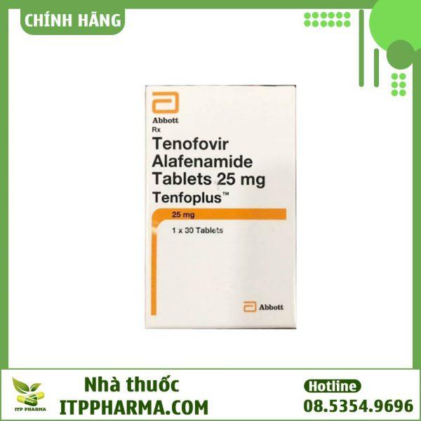 Thuốc Tenfoplus Tenofovir Alafenamide 25mg