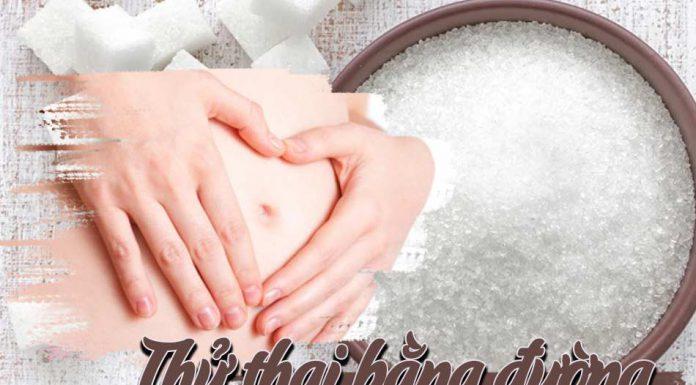 Phương pháp thử thai bằng đường