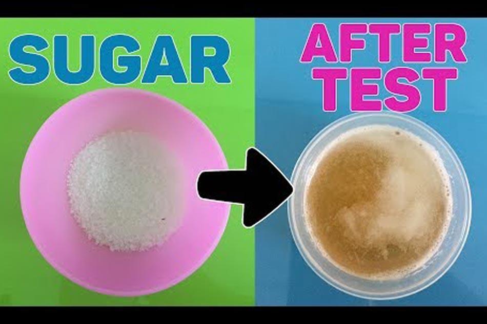 Thử thai bằng đường có chính xác không?