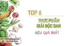 Top 6 thực phẩm giải độc gan tốt nhất hiện nay