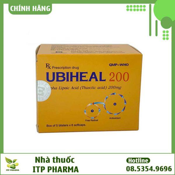 Hình ảnh mặt trước hộp thuốc Ubiheal 200