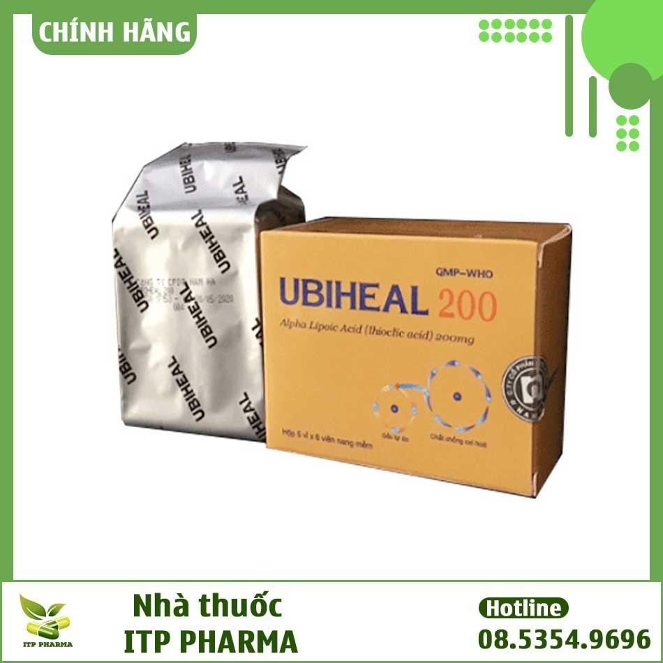 Thuốc Ubiheal 200 - Tăng cường hệ miễn dịch hiệu quả