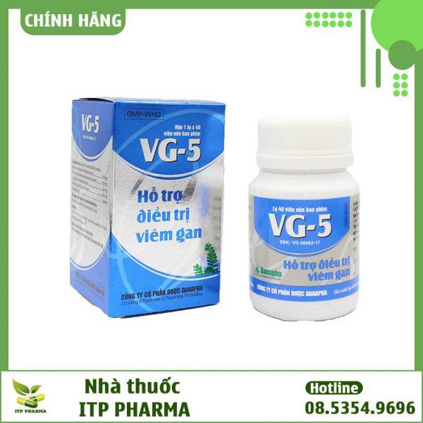 Viên uống VG-5 có tác dụng gì?