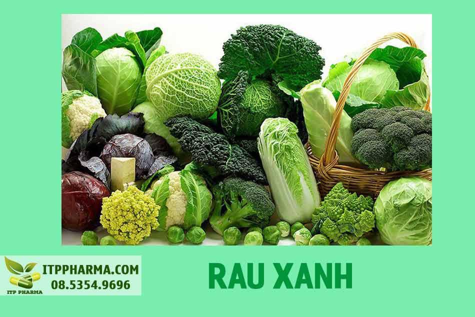 Vitamin K2 có trong rau xanh