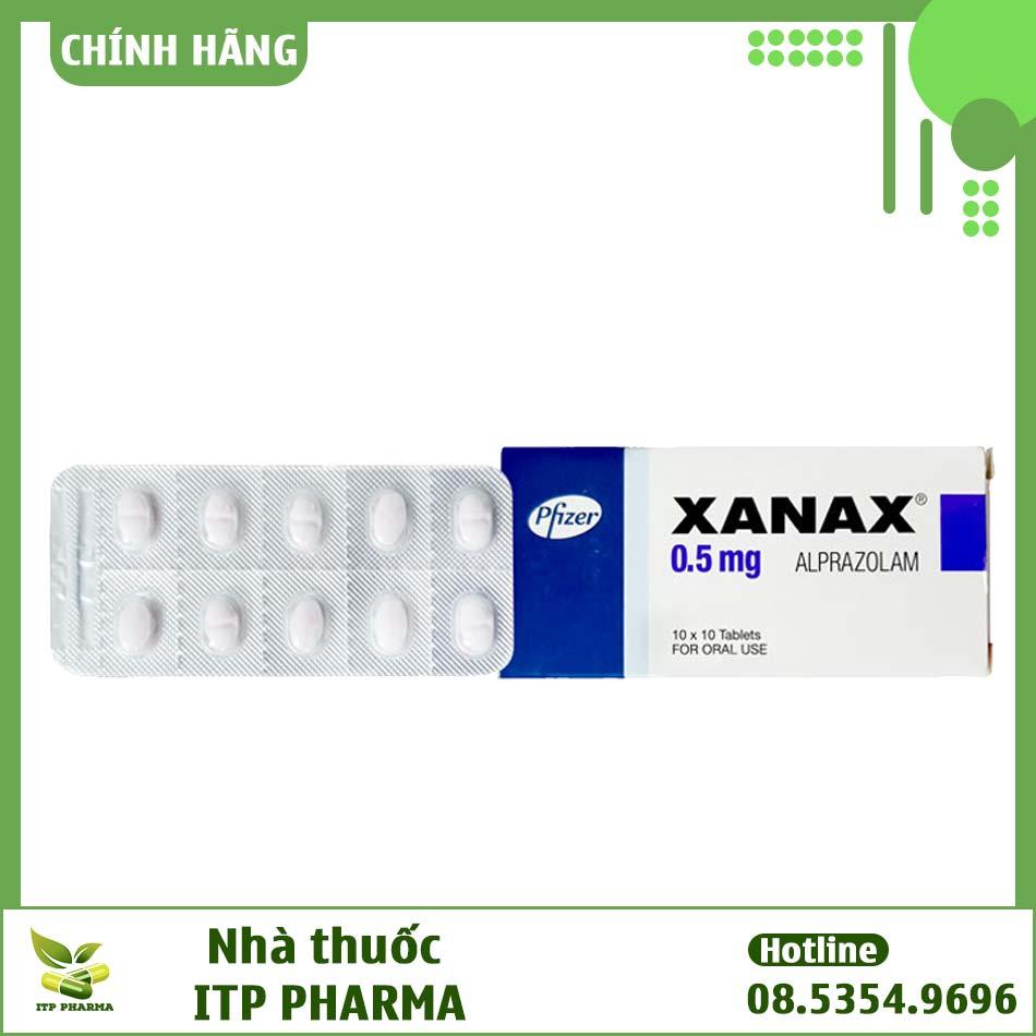 Thuốc Xanax có công dụng gì?