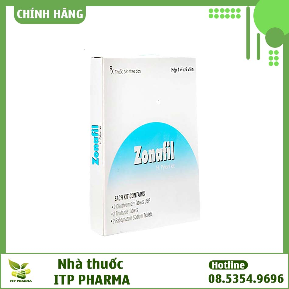 Hình ảnh hộp thuốc Zonafil