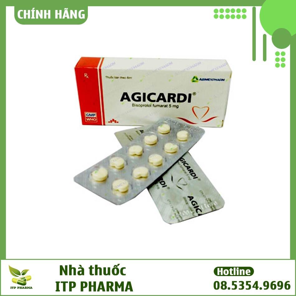 Hình ảnh vỉ thuốc Agicardi