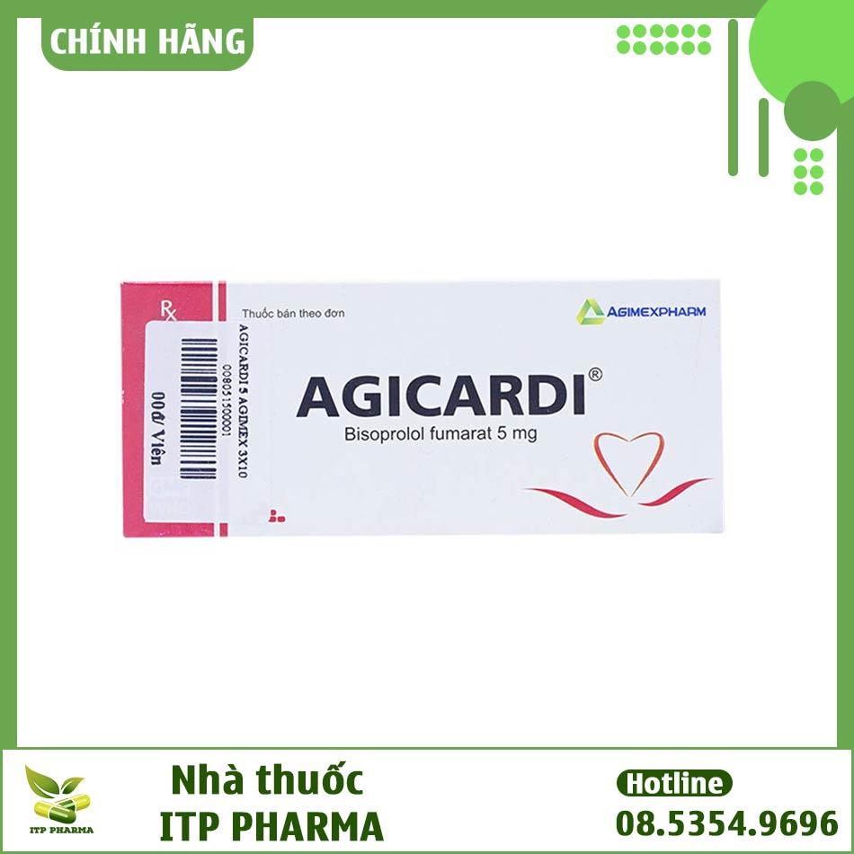 Hình ảnh hộp thuốc Agicardi
