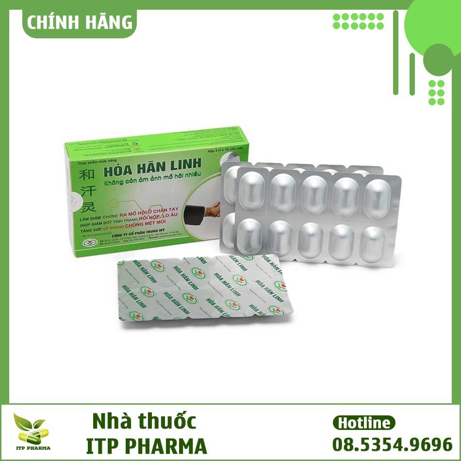 Hòa Hãn Linh có nguồn gốc thảo dược