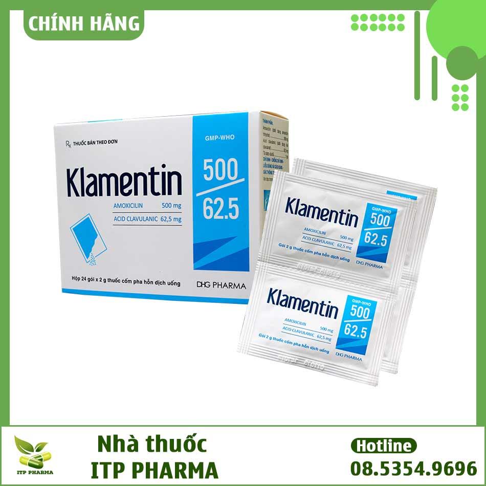 Hình ảnh Klamentin 500 dạng hỗn dịch