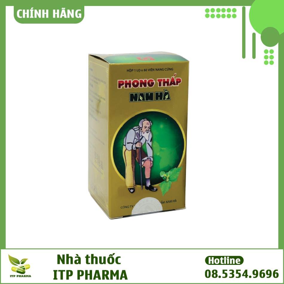 Hình ảnh hộp thuốc Phong Thấp Nam Hà