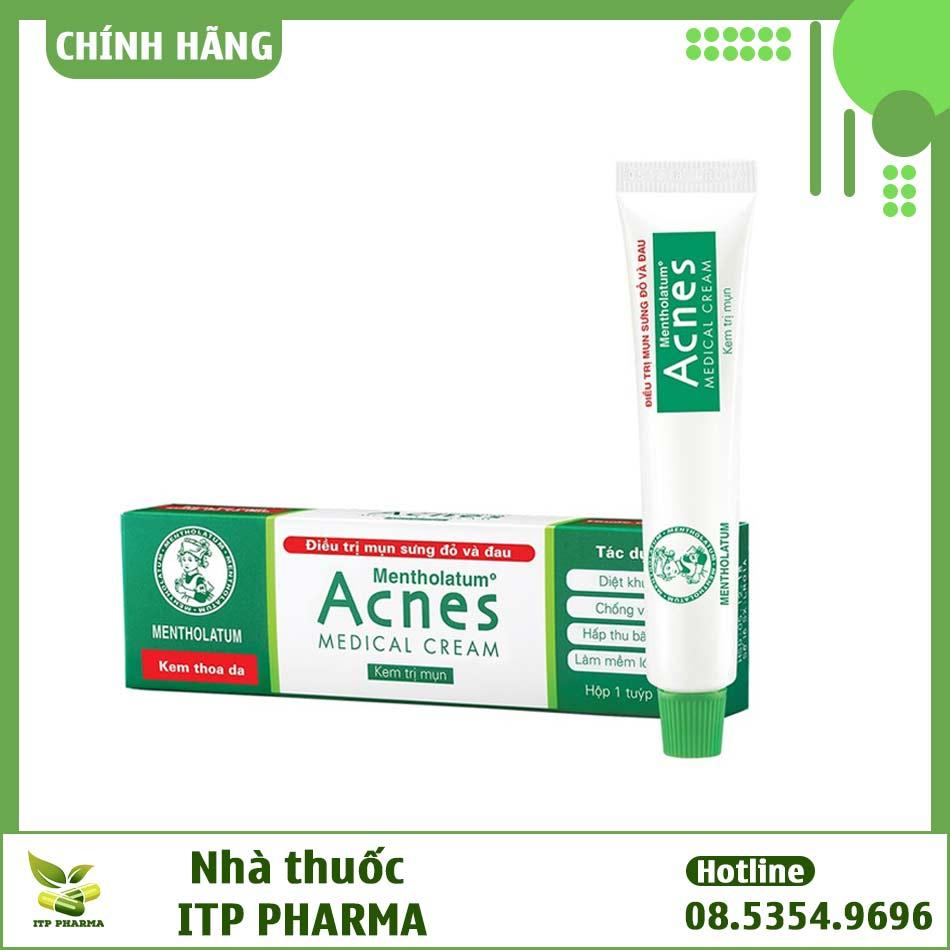 Cách phân biệt Acnes Medical Cream thật - giả