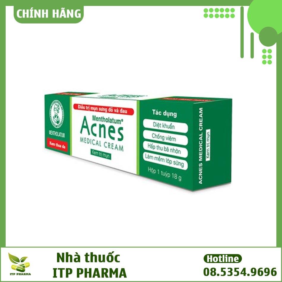Hình ảnh hộp kem trị mụn Acnes Medical Cream