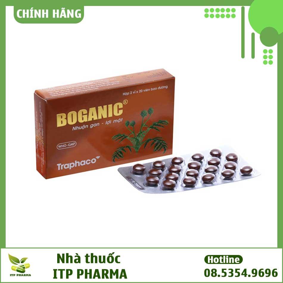 Boganic có nguồn gốc thảo dược