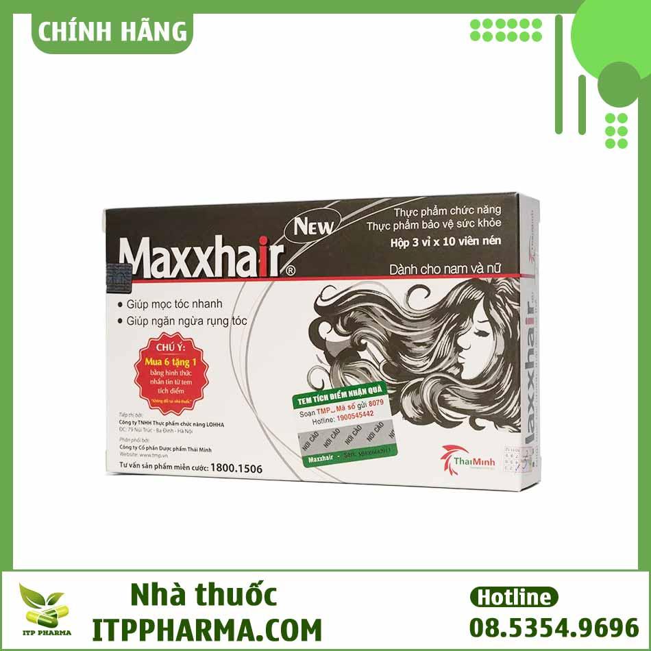 Maxxhair dùng được cho cả nam và nữ