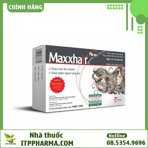 Thực phẩm chức năng Maxxhair hỗ trợ mọc tóc hiệu quả