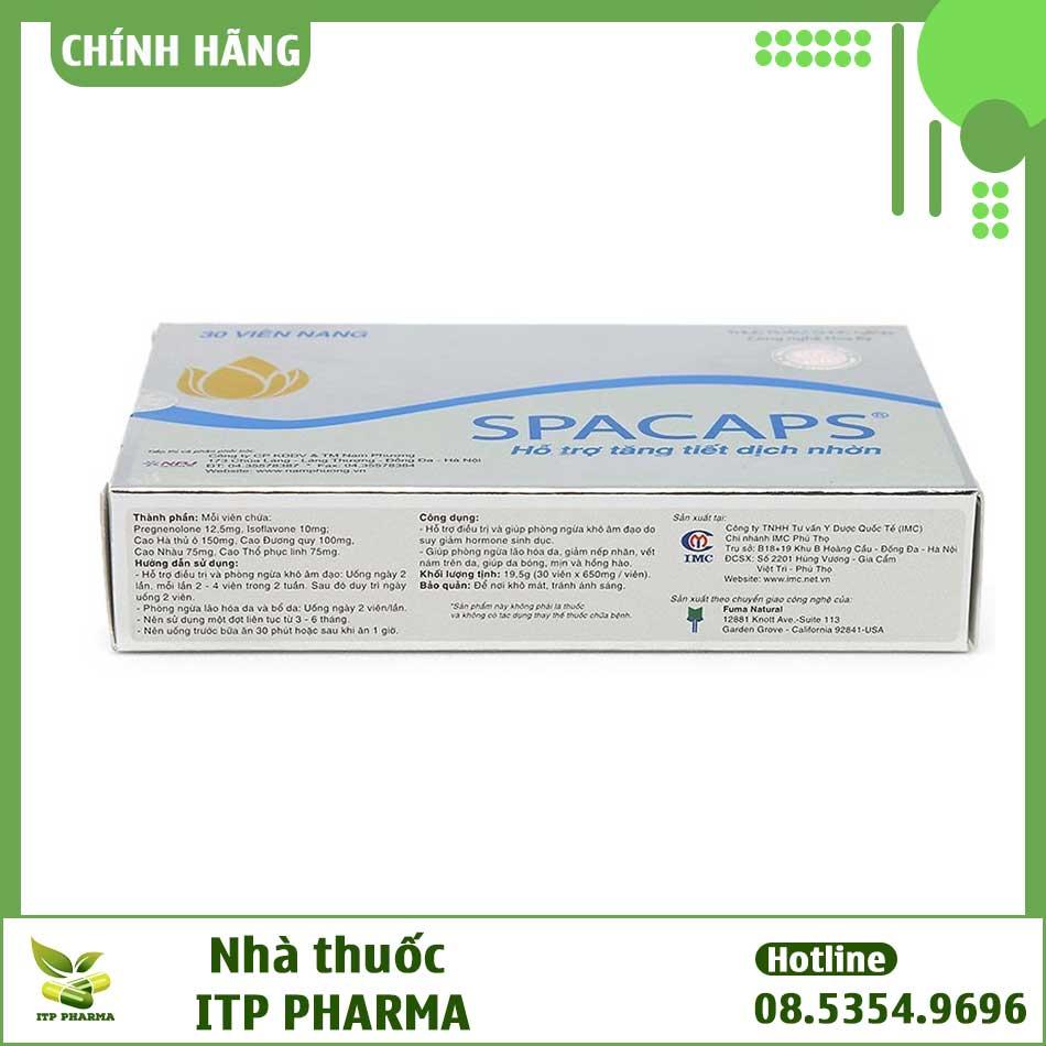 Spacaps bào chế dạng viên nén