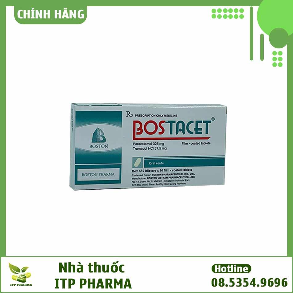 Bostacet - thuốc giảm đau hạ sốt hiệu quả