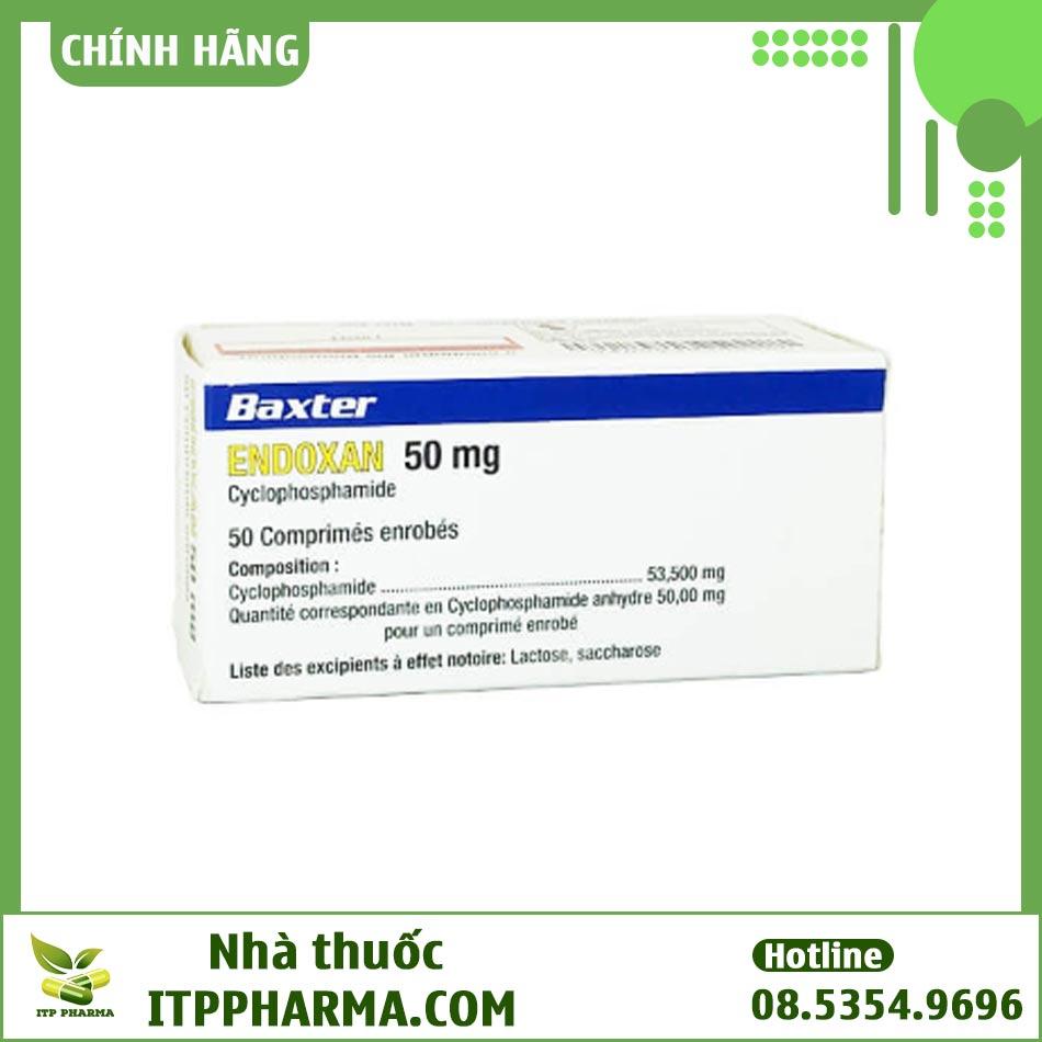 Thuốc điều trị ung thư Endoxan 50mg